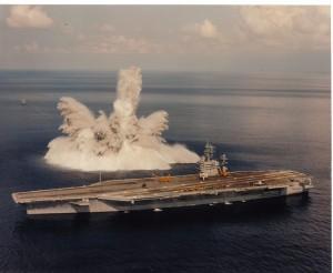 USS_Theodor_Roosevelt_shock_test