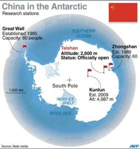 Chinese Antarctic Stations