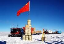 Chinese Flag Antarctic
